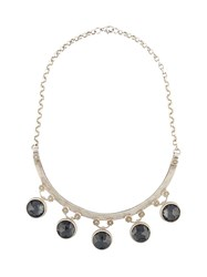 Marlo Laz 'Gypsy' Necklace Grey