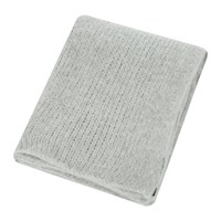 Zoeppritz Since 1828 Knitty Alpaca Wool Throw 140X190cm Light Grey
