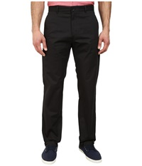 Calvin Klein Sateen Chino Pants Black Men's Casual Pants