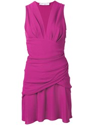 Iro Ruched Detail Dress Pink
