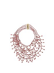 Rosantica By Michela Panero Pascoli Quartz Necklace Ruby