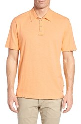 True Grit Men's Slub Jersey Polo Mango