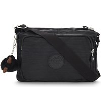 Kipling Reth Nylon Messenger Bag Dazz Black
