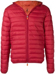 Save The Duck Giga Padded Jacket Red