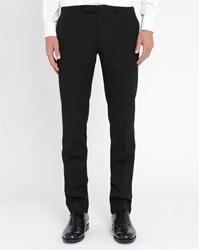 M.Studio Black Jake Tuxedo Trousers