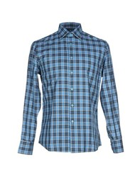 Gianfranco Ferre Gf Ferre' Shirts Shirts Men Sky Blue