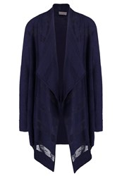 Vero Moda Vmnynne Needle Cardigan Navy Blazer Dark Blue