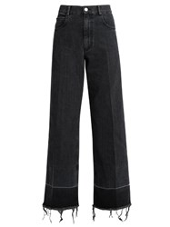 Rachel Comey Legion High Rise Wide Leg Jeans Black
