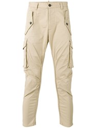 Dsquared2 Cargo Trousers Nude Neutrals
