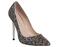 Office Onto Point Court Heels Multi Coloured Multi Coloured