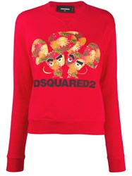 Dsquared2 Mouse Print Crew 60