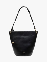 Radley Dove Road Leather Bucket Bag Black