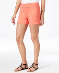 Thalia Sodi Pull On Shorts Only At Macy's Cool Salmon