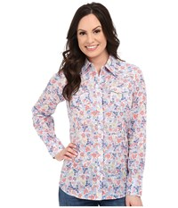 Ariat Stanton Snap Shirt Multi Women's Long Sleeve Button Up