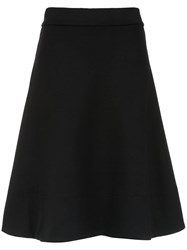 Amir Slama Flared Skirt Black