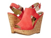 Carlos By Carlos Santana Malor Watermelon Women's Wedge Shoes Pink