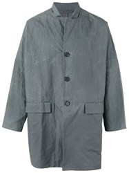 Casey Casey Wax Jacket Men Cotton S Grey