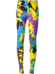 Love Moschino Abstract Print Leggings