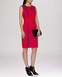 Karen Millen Dress Stripe Multicolour