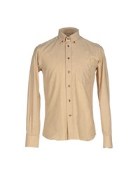 Caruso Shirts Shirts Men Ochre