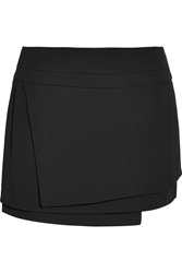 Helmut Lang Tiered Crepe Mini Skirt
