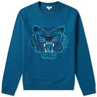 Kenzo Tiger Sweat Blue