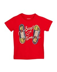 Mayoral Surf Time Sneaker T Shirt Size 3 7 Red
