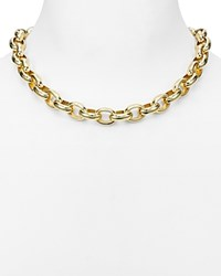 Ralph Lauren Oval Link Chain Necklace 18 Gold