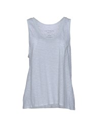 Fine Collection Tank Tops Light Green