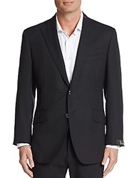 Billionaire Regular Fit Wool Sportcoat Black