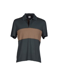 Class Roberto Cavalli Polo Shirts Dark Green