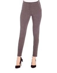 Jessica Simpson Heathered Ponte Knit Leggings Grey