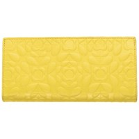 Orla Kiely Flower Stem Folded Purse Sunshine