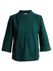 Ace And Jig Katherine Cotton Top Emerald