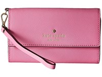 Kate Spade Cedar Street Phone 6 Wristlet Rouge Pink Cell Phone Case Red