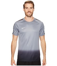 Nike Dry Cr7 Squad Soccer Top Cool Grey Tart Metallic Silver Men's Short Sleeve Pullover Cool Grey Tart Metallic Silver