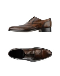 Canali Lace Up Shoes Brown