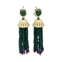 Bellus Domina Amare Aventurine Earrings Green