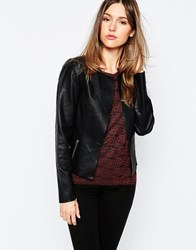 Only Fitted Short Jacket Black