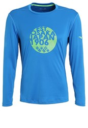 Mizuno Long Sleeved Top Skydiver Blue