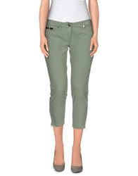 Elisabetta Franchi Gold Trousers 3 4 Length Trousers Women Light Green