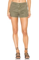 Level 99 Helen Trouser Short Army