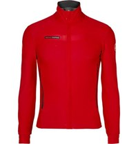 Castelli Gabba 2 Water Repellent Stretch Jersey Top Red