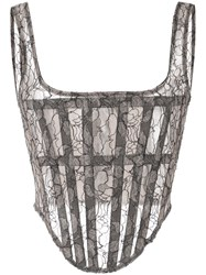 Dion Lee Sheer Lace Corset 60