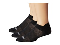 Wrightsock Coolmesh Ii Tab 3 Pack Black Low Cut Socks Shoes