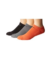 Nike Dri Fit Cushion No Show 3 Pack Multicolor 7 No Show Socks Shoes