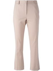 Mauro Grifoni Cropped Trousers Nude And Neutrals