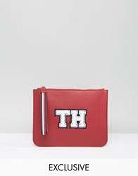 Tommy Hilfiger Exclusive Wristlet Clutch Bag In Red Red