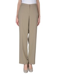 Blue Les Copains Trousers Casual Trousers Women Khaki