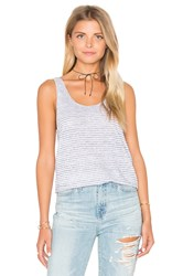 Rag And Bone Summer Stripe Canyon Tank White